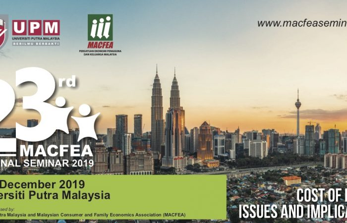 The 23rd MACFEA National Seminar 2019 – Call for Papers